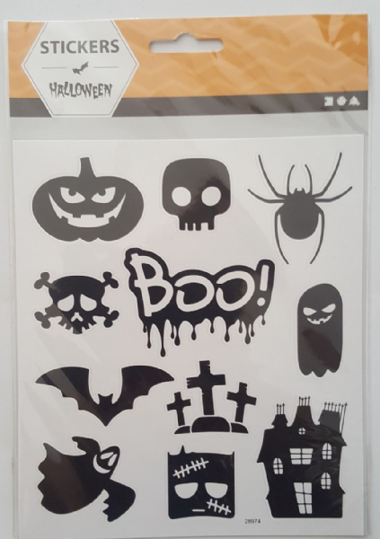 1 Sheet Halloween Motif Stickers